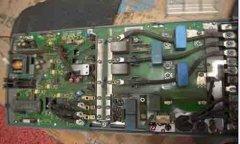 三菱变频器开机无显示和不启动维修