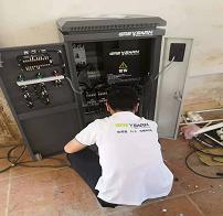 东莞安川变频器维修实例