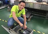 东元变频器显示过电流故障维修